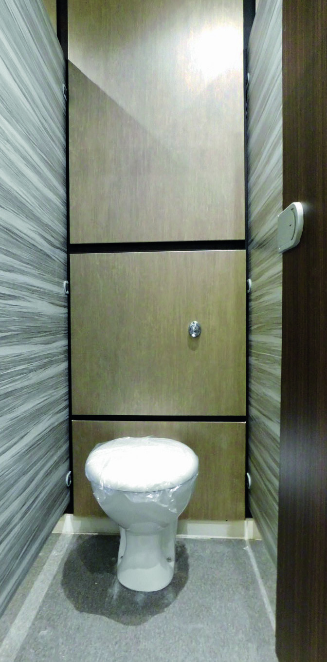Refurbished cubicle