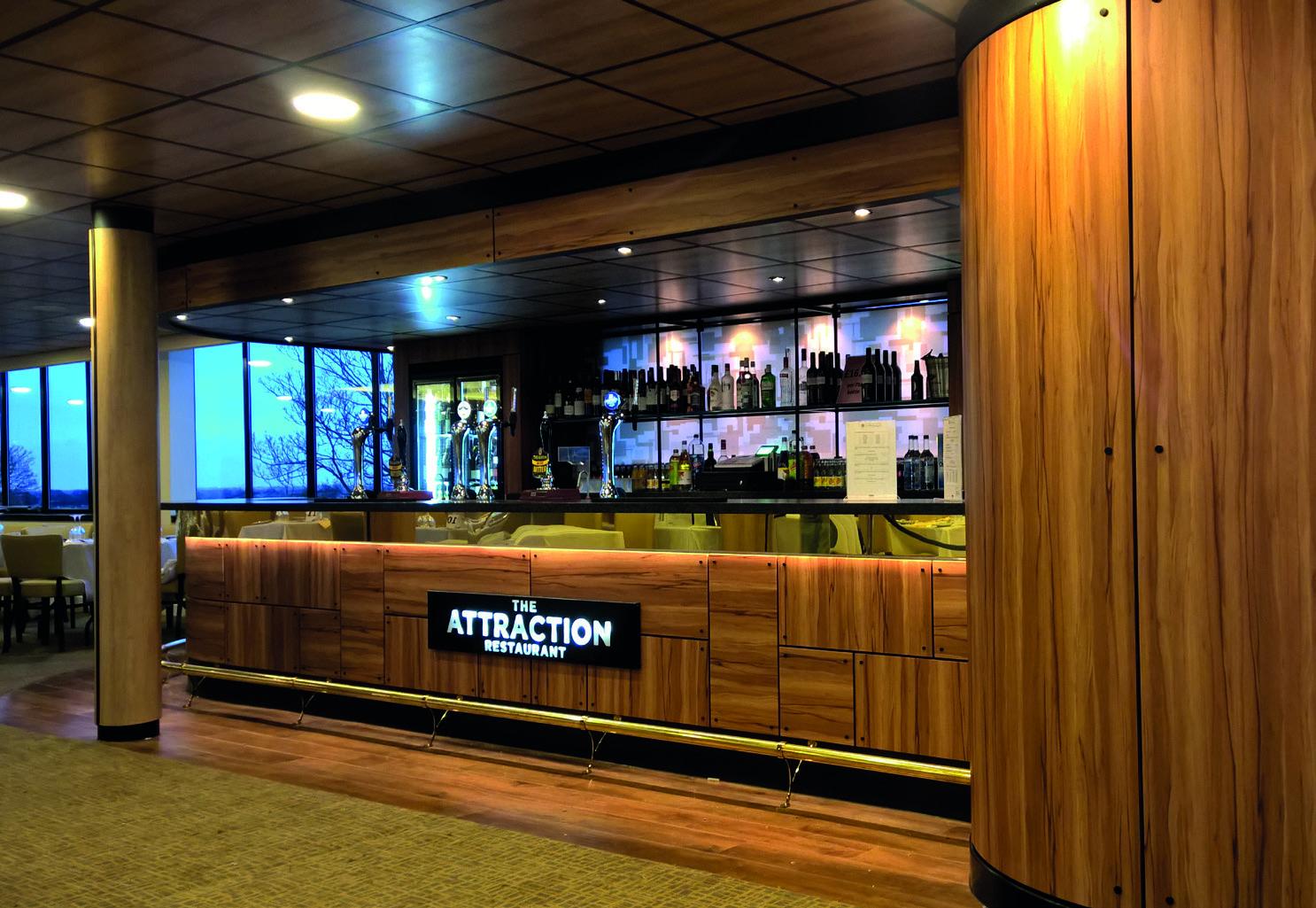 Bar after