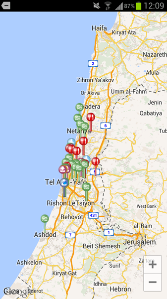 פיתוח אפליקצייץ קופונים מבוסס מיקום