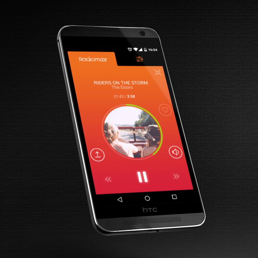 אפליקציית רדיומייז - פיתוח אפליקציות לרכב