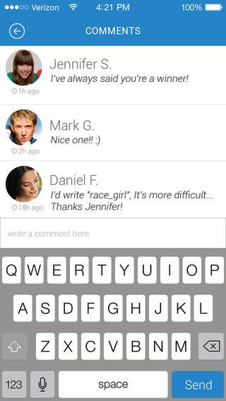 eyepic - פיתוח אפליקציה חברתית
