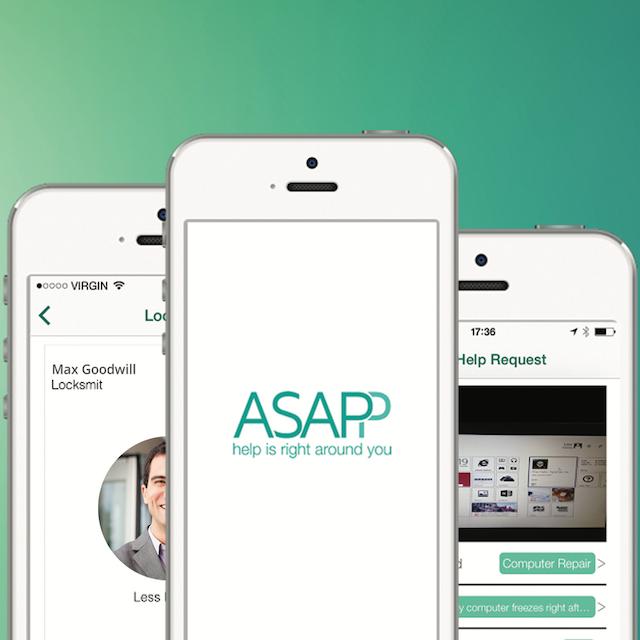 פיתוח אפליקצייה אנשי מקצוע - ASAPP