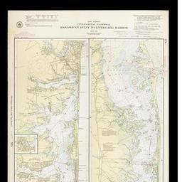 New Jersey Intracoastal Waterway Manasquan Inlet To Little Egg - Us-intracoastal-waterway-map