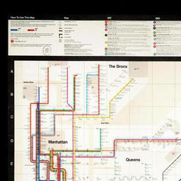 1972 Nyc Subway Map.New York Subway Guide The Newberry