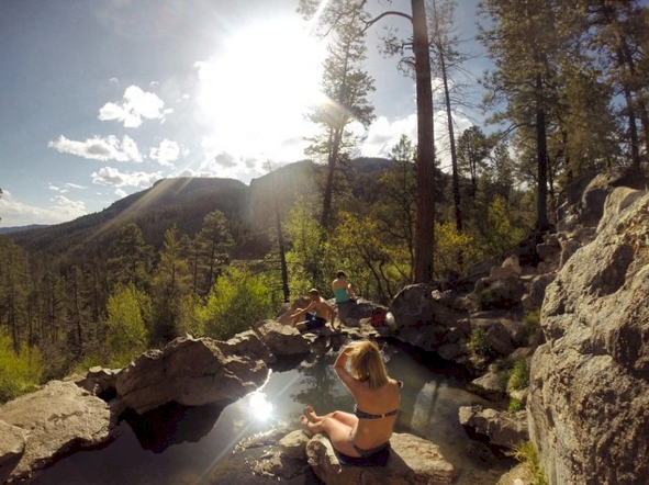 5 Amazing NM Hikes with Hot Springs