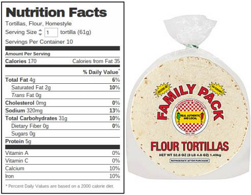 Free Info 17 Wheat Flour Tortilla Calories Download Pdf Doc Zip