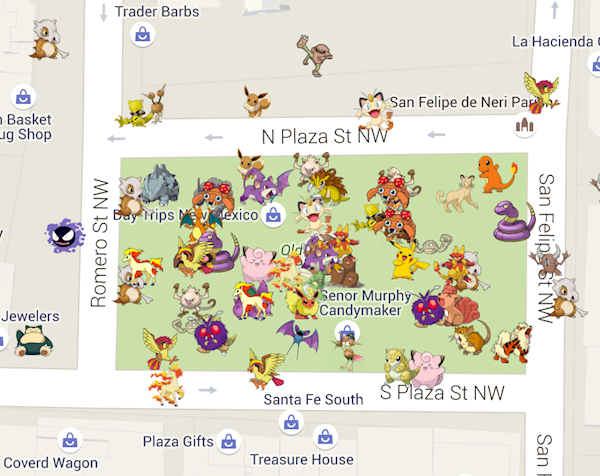 Google Map Reveals Where Every Single Pokemon Can Be Found In