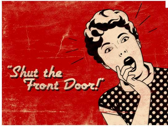 How To Curse Like A Utahn - What does shut the front door mean