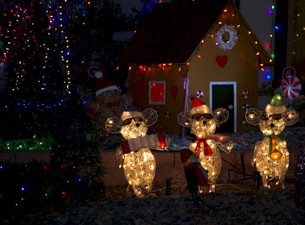 Top 10 ABQ Christmas Light Neighborhoods