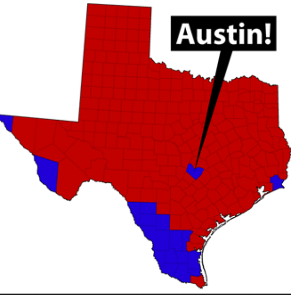 19 Being The Most Democratic City In Texas