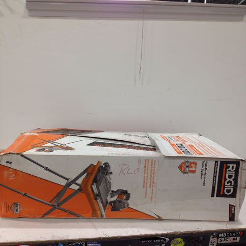 Ridgid R4031S 7in Wet Tile Saw Stand