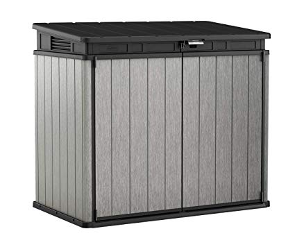 Keter 17207331 patio storage chest size 41 cubic feet
