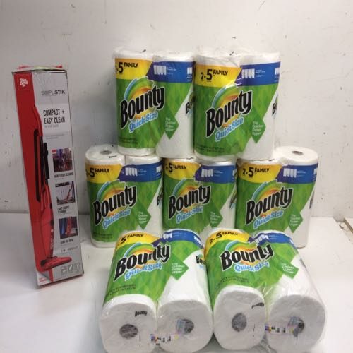 Mixed Lot of 2 paper towel & stick vacuum