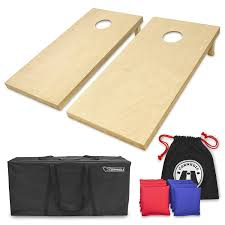 Pro Line Bean Bag Toss With Wooden Boards And Bags