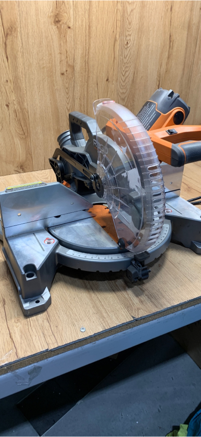 Rigid 10 Inch 15 Amp Miter Saw Model R41121