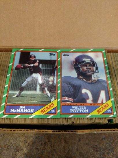 Baseball & Football Cards Complete Sets From '80s