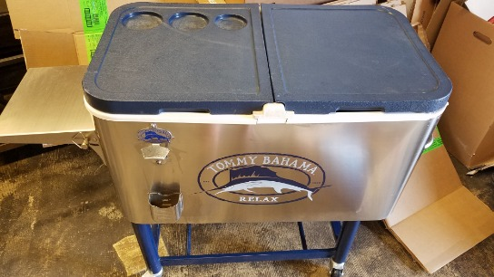 Tommy  Bahama  Rolling  Cooler