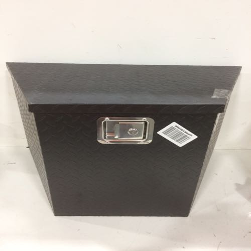 Trunk Tools Box Large Black With Latch