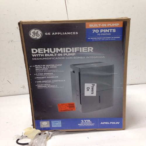 Ge Dehumidifier With Built In Pump