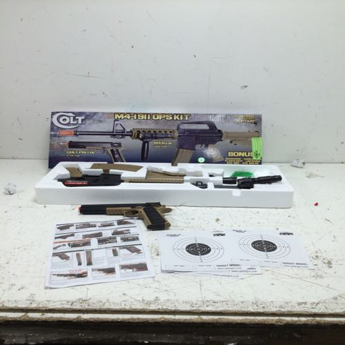 Colt M4-1911 OPS KIT Spring Powered Air Soft Rifle