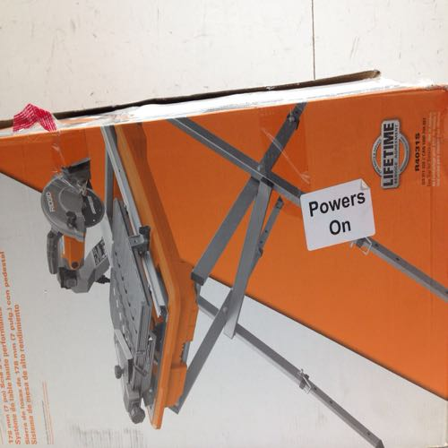 Ridgid Wet Tile Saw With Stand size 7in