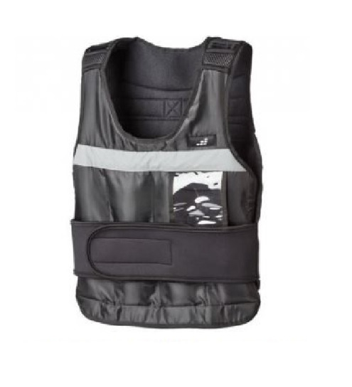 NEW IN BOX - BCG 20LB ADJUSTABLE WEIGHT RUNNING/WORKOUT WEIGHT VEST - FITS WIDE RANGE OF SIZES