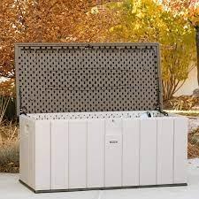 Brand New  Lifetime  Deck Box  150  Gal  Its A  Huge Box 10 Year   Warranty Not  A Cheapie