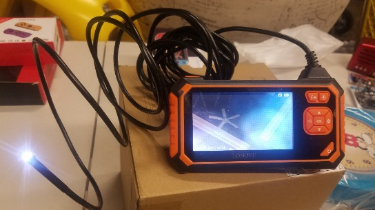 Amazing   Digital Endoscope  Expand What You  See  New In  Box Orange