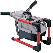 Ridgid  66492 K-60sp Sectional Machine, Compact Sectional Drain Cleaning Machine With Easy Snake Cable Changes, Drain Cleaner Machine