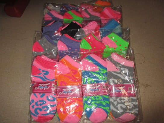5 Dozen Womans Socks