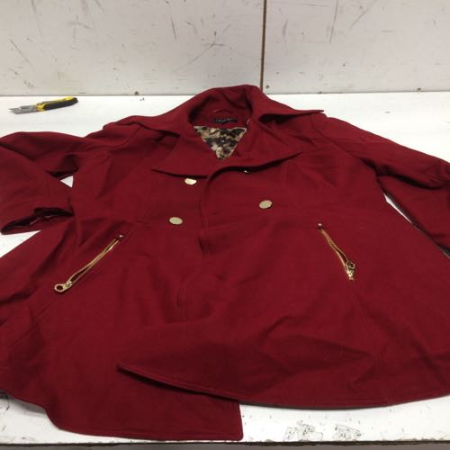 Laundry By Shelli Segal Women's Coat size 1x Red