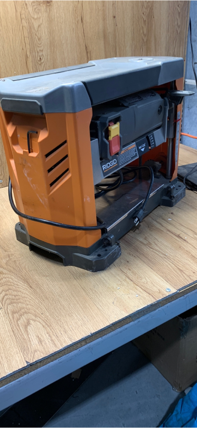 Rigid 13 In Thickness Planer Corded