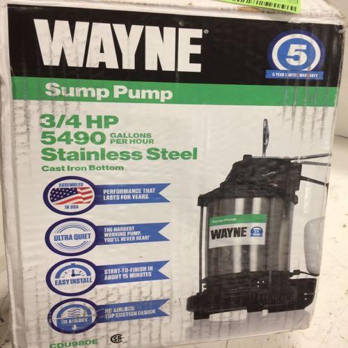 Wayne Sump Pump