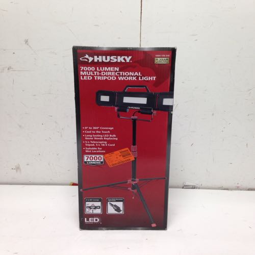 Husky 1004 178 519 Led Tripod Worklight