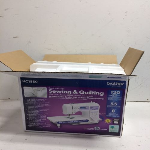 Brother  HC1850 Computerized Sewing & Quilting Machine White