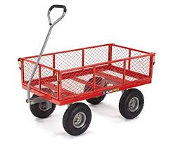 Steel Utility Cart with Removable Sides