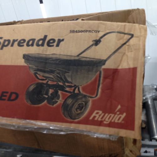 Rugid SB4500PRCGY Broadcast Spreader