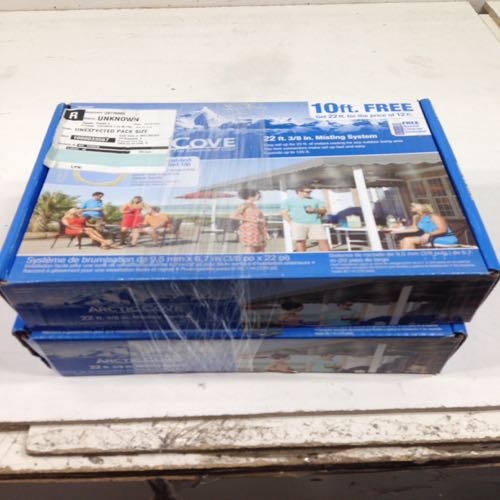 Lot of 2 Arctic Cove 1000033567 22 Ft 3/8'' Misting System