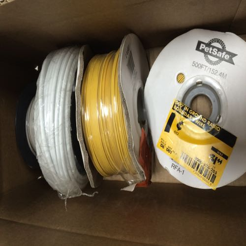 Lot of 4 Petsafe Electrical Wire