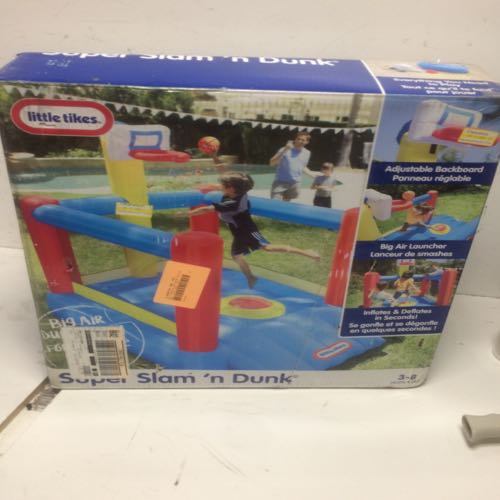 Little Tikes Super Slam And Dunk Inflatable