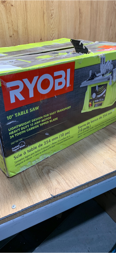 Ryobi 10 In Table Saw RTS10NS