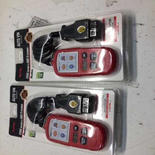 Lot of 2 Autel Code Reader And Scanner