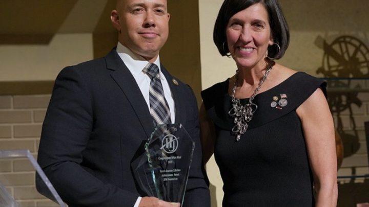 Congressman Brian Mast Receives Lifetime Achievement Award from John P. Mayhugh Foundation