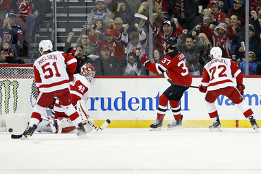 Devils allow 3 straight goals, lose to Red Wings in OT | Rapid reaction