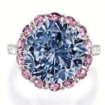 Two Top Lots at Sotheby's Hong Kong Autumn Sale – October 2013, Lot 1925 – The Premier Blue Diamond and Lot 1932 – 118.2-carat, oval brilliant-cut, D-Color, Flawless Type IIa Diamond