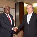 PRESIDENT KOROMA OF SIERRA LEONE VISITS ISRAEL DIAMOND EXCHANGE