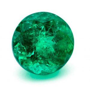 Lot 10 - 4.39-carat, oval-cut, Reina del mar Muzo/Atocha emerald