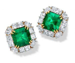 Lot 2 - Mariposas de Muzo - Butterflies of Muzo Emerald and Diamond Earrings