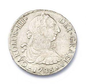 Lot 38 - El Cazador Silver Reales Coin - from the 1784 Spanish El Cazador wreck