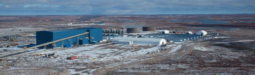Gahcho Kué Diamnd Mine, situated 280km northeast of Yellowknife in the Northwest Territories (NWT) of Canada